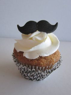 Mustache Little Man Cupcake Toppers Decorations by DKDeleKtables, $2.25