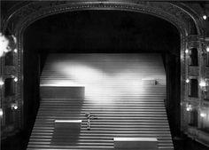 Josef Svoboda.  http://www.graphicine.com/josef-svoboda-light-and-shadows/