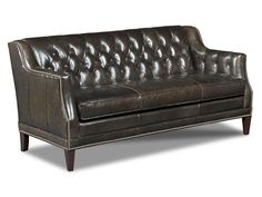 Hooker Furniture Living Room Balmoral Blair Stationary Sofa SS355-03-089 - Slone Brothers - Longwood and Orlando, FL