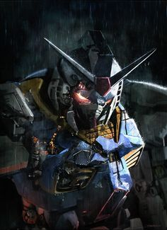 "Gundam , Alessandro ""Talexi"" Taini on ArtStation at https://www.artstation.com/artwork/2eaaY"
