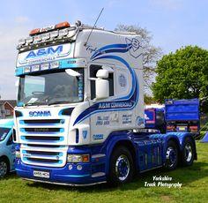 blue scania trucks - Google Search