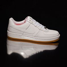 Nike White Air Force Ultra Low Trainers