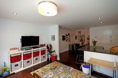 @IKEA USA-inspired playroom nook