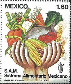 Mexico-Stamp-1982-MEX8220-Fruit-Flower-Stamp More about #stamps: http://sammler.com/stamps/ Mehr über #Briefmarken: http://sammler.com/bm