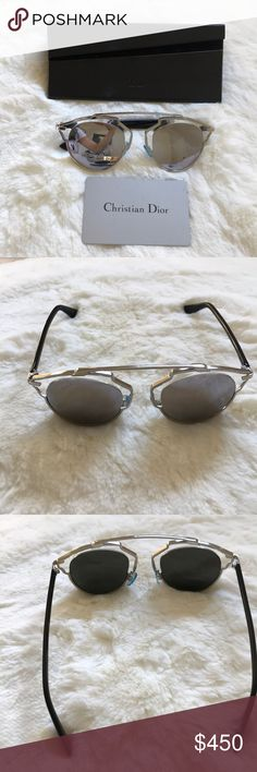 324ddb0c68d521 Dior so real sunglasses 100% Authentic (see authenticity card) never used  Dior s