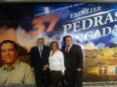 Acabamos de chegar de uma convenção, a 37ª convenção estadual da IEQ EM Serra Negra.