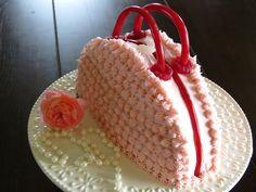 Purse Cake ~ Simple White Cake | Mennonite Girls Can Cook | Bloglovin'