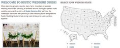 Rustic Wedding Guide - All the rustic wedding venues.