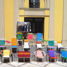 I had been keen to see Marni's collection of chairs, commissioned for Milan Design Week and made by ex-prisoners in Columbia, so I headed over there on day three.