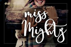 Miss Mighty Font by mycandythemes on @creativemarket