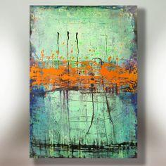 Art peinture toile peinture ORIGINAL peinture par ColorMind sur Etsy, $148,00
