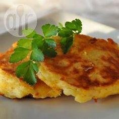 Panqueca de batata com queijo @ allrecipes.com.br