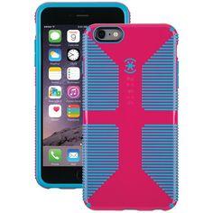 "Speck Spk-A3182 Iphone(R) 6 Plus 5.5"" Candyshell(R) Grip Case (Lipstick Pink/Jay Blue)"
