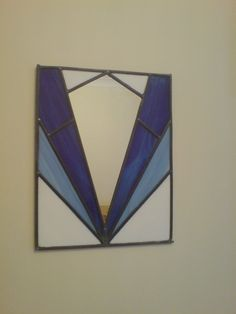 Stained Glass Art Deco Mirror by ~l1vethedream on deviantART