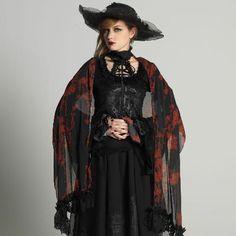 Bloody Rose shawl