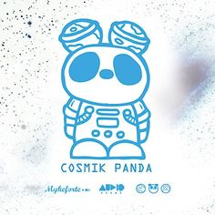 "Myke Forte – ""Cosmik Panda"" (Futuristic HipHop-Instrumental EP)"