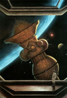 Retro-Futurism, Space Fiction, stephen youll - forbidden knowledge