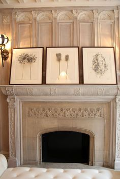 "let the mantel hold unique pieces.your self-expression as only you feel it.speak to me.""o) Interior design by Stephen Sills Home Fireplace, Fireplace Design, Kitchen Fireplaces, Modern Fireplaces, Outdoor Fireplaces, Mantle Styling, Tv Decor, Home Decor, Light My Fire"