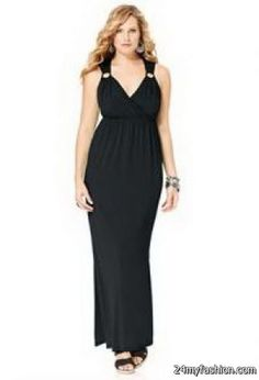 72ca05a34069 Black maxi dresses plus size Check more at https://24myfashion.com/