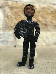 Black Panther Crochet Amigurumi Pattern