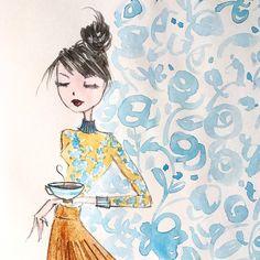 coffee time ☕️ #sketch #coffee #time