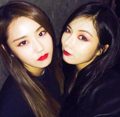 #Gayoon and #Hyuna ♥