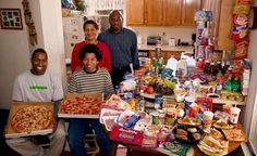 Πόσα λεφτά ξοδεύουν για το εβδομαδιαίο φαγητό τους οι οικογένειες σε 24 χώρες του κόσμου (ΦΩΤΟ)