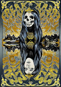 ☮ American Hippie Psychedelic Music Poster ~ Blues Pills at Freak Valley Festival 2014