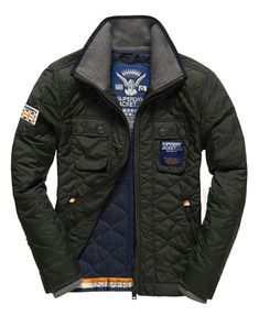 Nylon Quilt Jacket from SuperDry $230