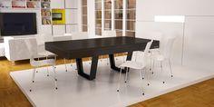 billard table design noir aero
