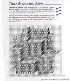 Brick stitch bargello needlepoint