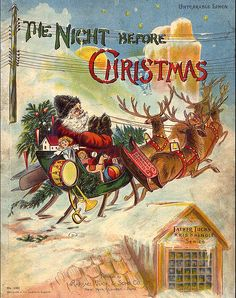The Night Before Christmas published by Raphael Tuck & Sons c1910