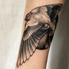 Bird Tattoo, Swallow Tattoo, Navy Tattoo knocked out by in Jacksonville, FL Tattoo Swallow, Navy Tattoos, Nature Tattoos, Jacksonville Fl, Bird, Swallow Tattoo, Birds