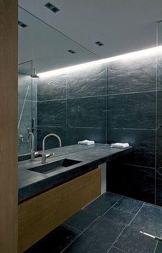 Erleben Sie die Badgestaltung von einer neuen Seite mit #Schiefer #Waschtischen.  http://www.schiefer-deutschland.com/schiefer-waschtische-moderne-schiefer-waschtische
