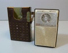 Zenith Royal 59 Transistor Shirt Pocket Radio
