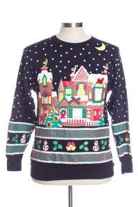 Black Ugly Christmas Sweatshirts 31274