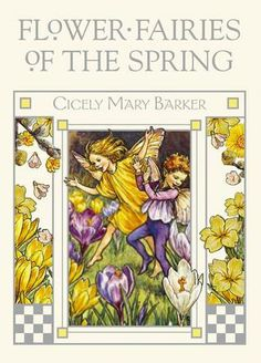 Cicely Mary Barker's original Flower Fairies books, first published in the 1920s, have been known and loved by generations. Like the pre-Raphaelite painters whom she so admired, Barker believed in re-creating the beauty of nature in art and drawing from life. Her Flower Fairies watercolors have a unique combination of naturalism and fantasy that no imitators have matched.--goodreads  These books are fantastic--poems and illustrations match completely.