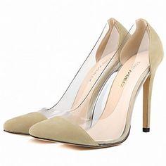 Calçados+Femininos+-+Saltos+-+Saltos+/+Bico+Fino+-+Salto+Agulha+-+Preto+/+Azul+/+Amarelo+/+Verde+/+Roxo+/+Vermelho+/+Branco+/+Laranja+-+–+EUR+€+34.29