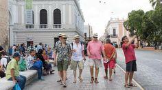 Turistas agotan vuelos hacia Yucatán Foto: Especial