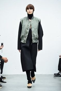 Street Look, Hyke, Fasion, Casual Chic, High Fashion, Normcore, My Style, How To Wear, Jackets