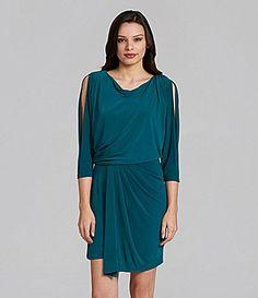 Max and Cleo Matte Jersey ColdShoulder Dress #Dillards