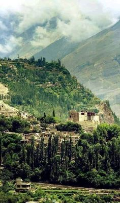 Altit Fort, Hunza, Pakistan (Submitted by a fellow AWW fan!) . Brighten your daily feeds by following us! [#AWWonInsta] [@AWWonTwit] [AWWonFace]
