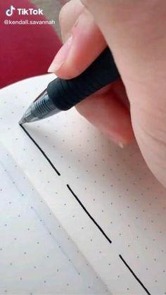 Bullet Journal Lettering Ideas, Bullet Journal Banner, Bullet Journal Notebook, Bullet Journal School, Bullet Journal Ideas Pages, Bullet Journal Inspiration, Hand Lettering Tutorial, Hand Lettering Art, Bullet Journal Aesthetic