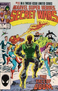 MARVEL SUPER HEROES SECRET WARS # 11    MARVEL COMICS    1985    nm