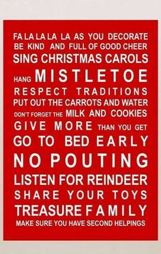 my Christmas mantra!