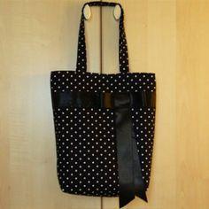 Tuto sac : Le sac à pois
