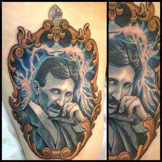 Tattoo done byRuss Abbott.