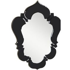 Found it at Wayfair - Venetian Black Wall Mirror