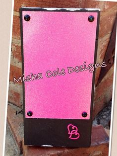 Hand painted distressed wood dry erase memo by mishacoledesigns, $20.00