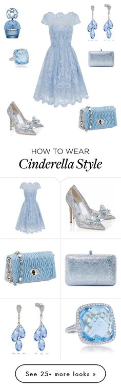 """Cinderella Inspired"" by anesbitt09 on Polyvore featuring Chi Chi, Posh Girl, Diana M. Jewels, Sylvia Toledano, Miu Miu and Marc Jacobs"
